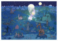 John Blund, dragons, gingerbread house, castles, unicorns and other fairy tales