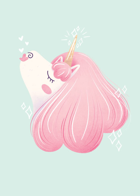 Pretty Unicorn by Dani Ammons