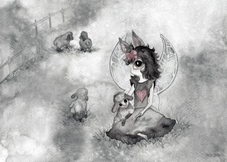 The Sheep Girl by Erica Cervin